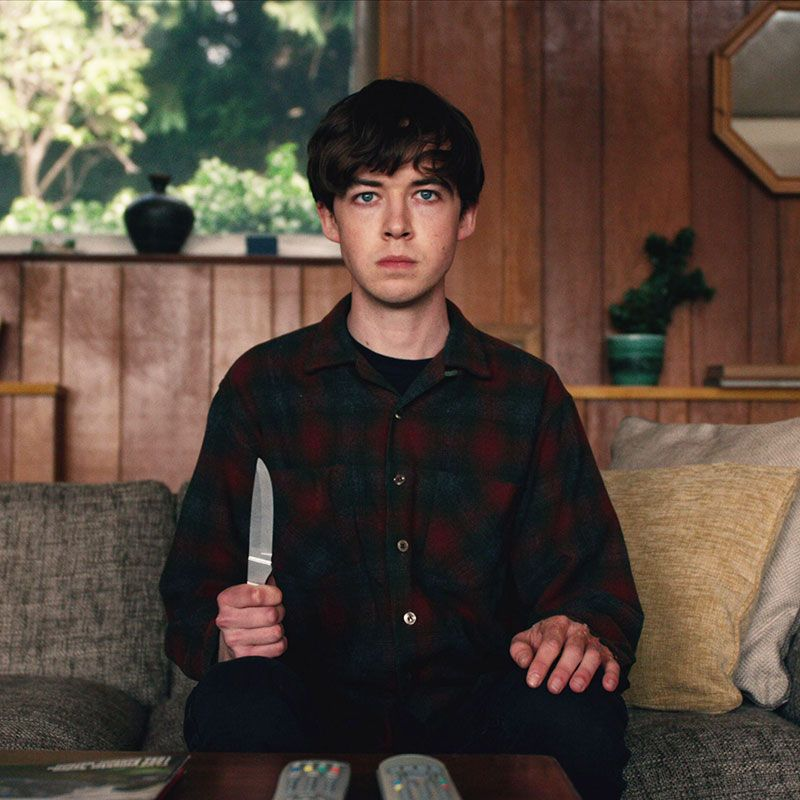 Arizona The Valentine State is having a love affair with dark British comedy The End of the F***king World .