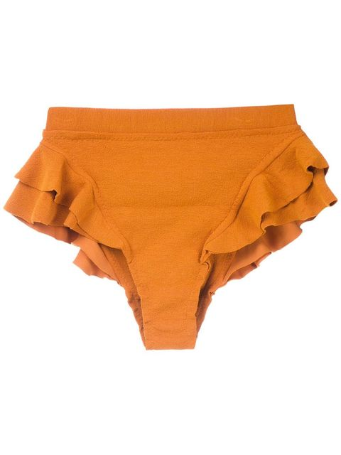 Clothing, Briefs, Orange, Undergarment, Bikini, Swim brief, Swimsuit bottom, Underpants,