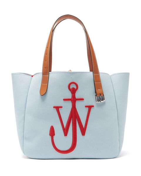 jw anderson blue sky high end luxury designer handbag