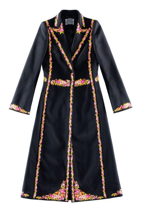 Clothing, Outerwear, Dress, Day dress, Sleeve, Robe, Coat, Overcoat, Collar, Costume design,