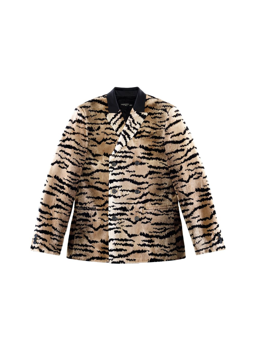 GV Tiger Velvet Jacket