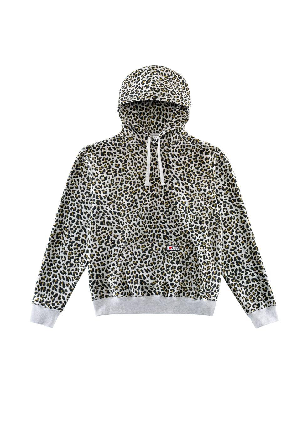GV Leopard Print Hoody