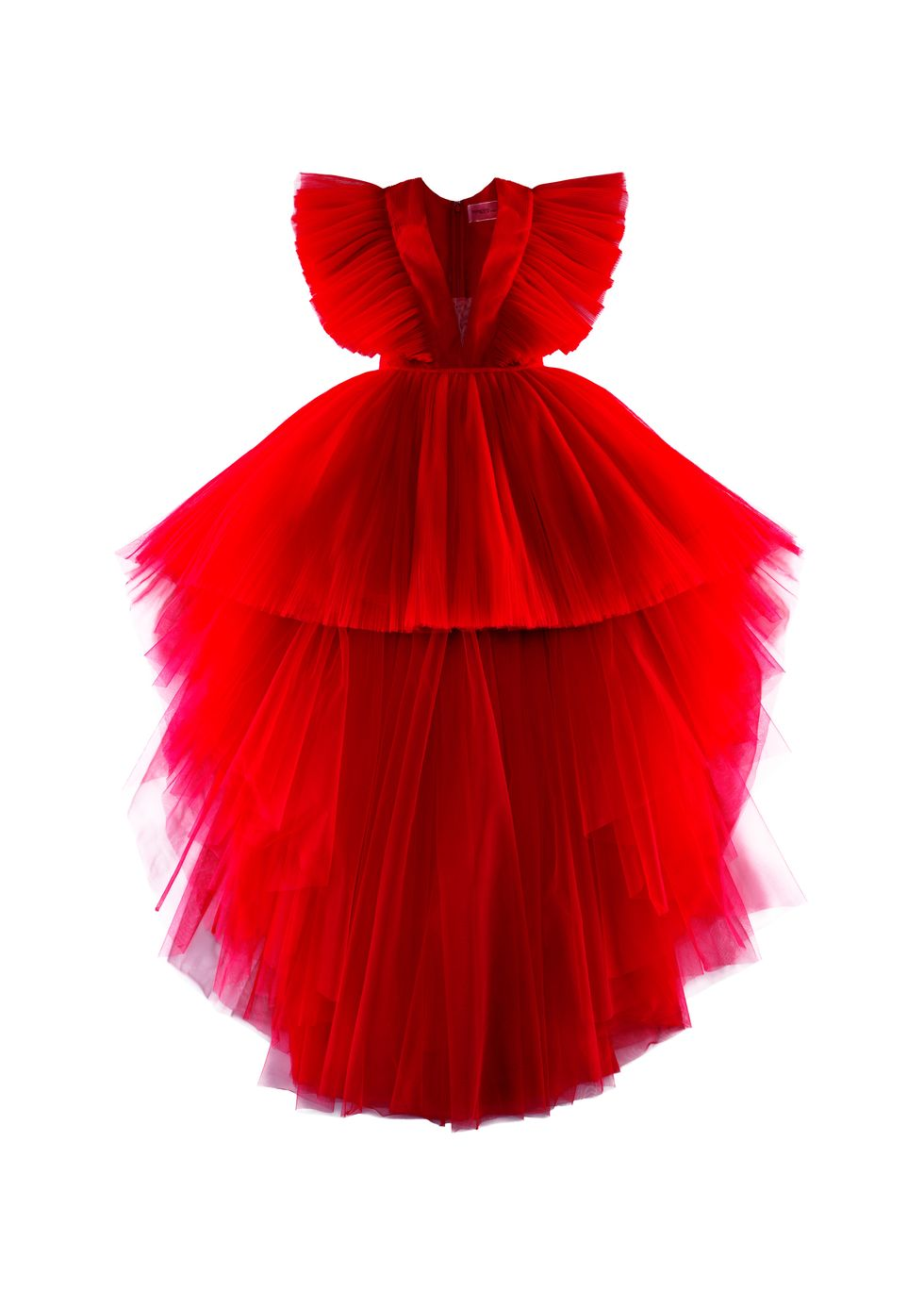 GV Long Tulle Dress