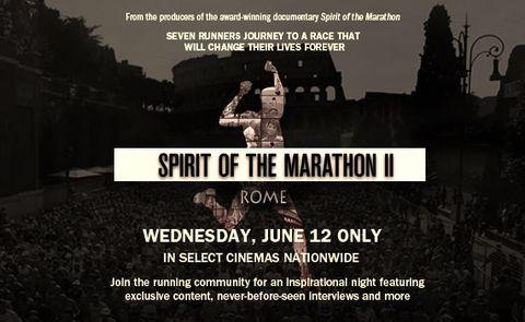 'Spirit of the Marathon II' in Theaters Next Week