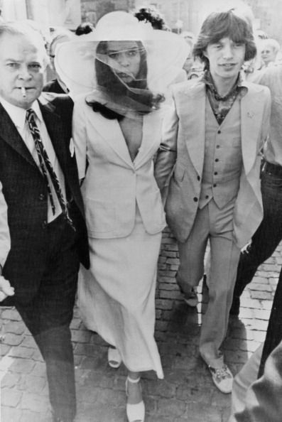 the jaggers, bianca jagger