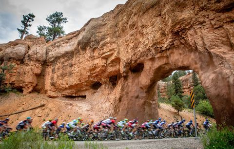 riders in tour of utah