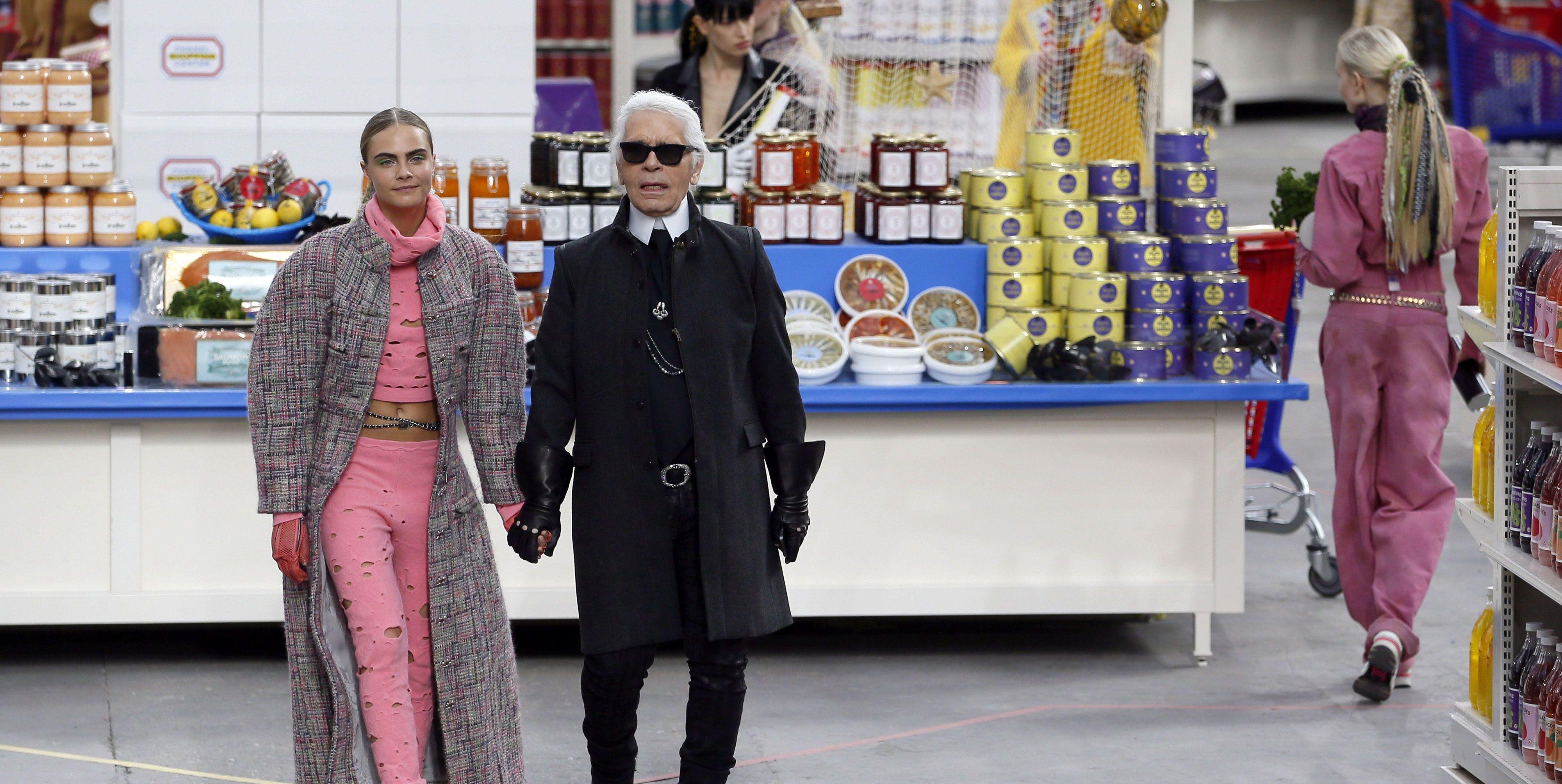 Karl Lagerfeld overleden - Chanel-shows