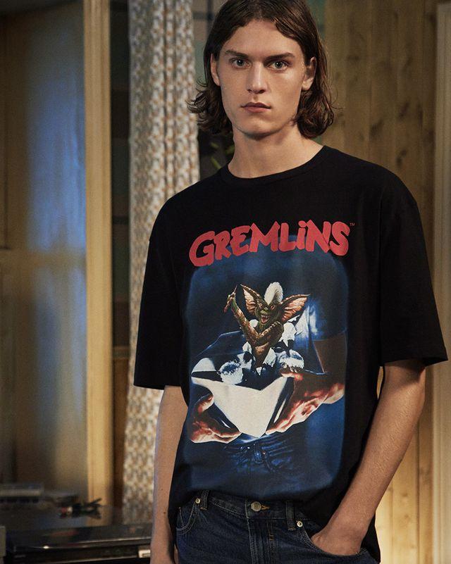 camiseta lefties hombre halloween gremlins