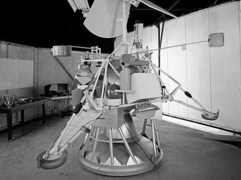 nasa's surveyor 2 mission, which launched on september 20, 1966, and crashed into the lunar surface two days later