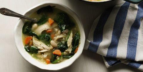 Dish, Food, Cuisine, Soup, Ingredient, Minestrone, Asian soups, Produce, Vegetable, Caldo de pollo,