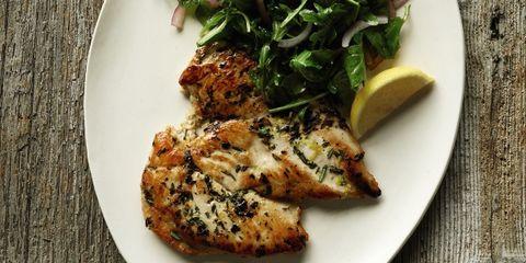 dish, food, cuisine, ingredient, produce, recipe, meat, pork chop, vegetarian food, leaf vegetable,