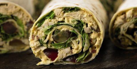 Sandwich wrap, Food, Dish, Cuisine, Ingredient, Kati roll, Produce, Vegetarian food, Recipe, Finger food,
