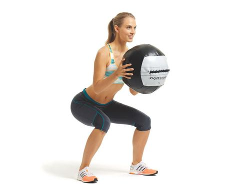 The 4-Move Dynamix Ball Workout