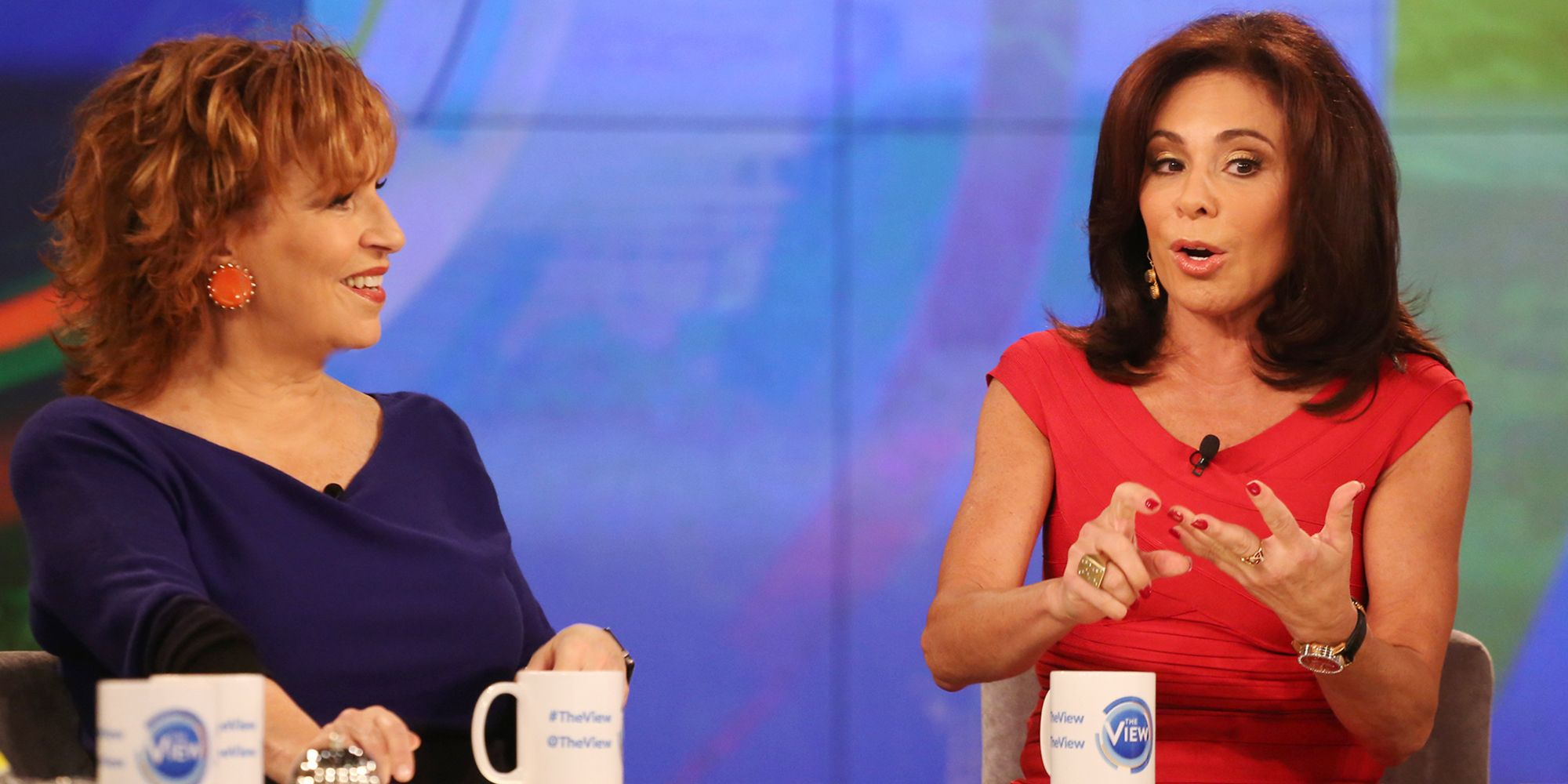 "Jeanine Pirro Believes The View Treated Her ""Less Than Human."" Let's Discuss That."