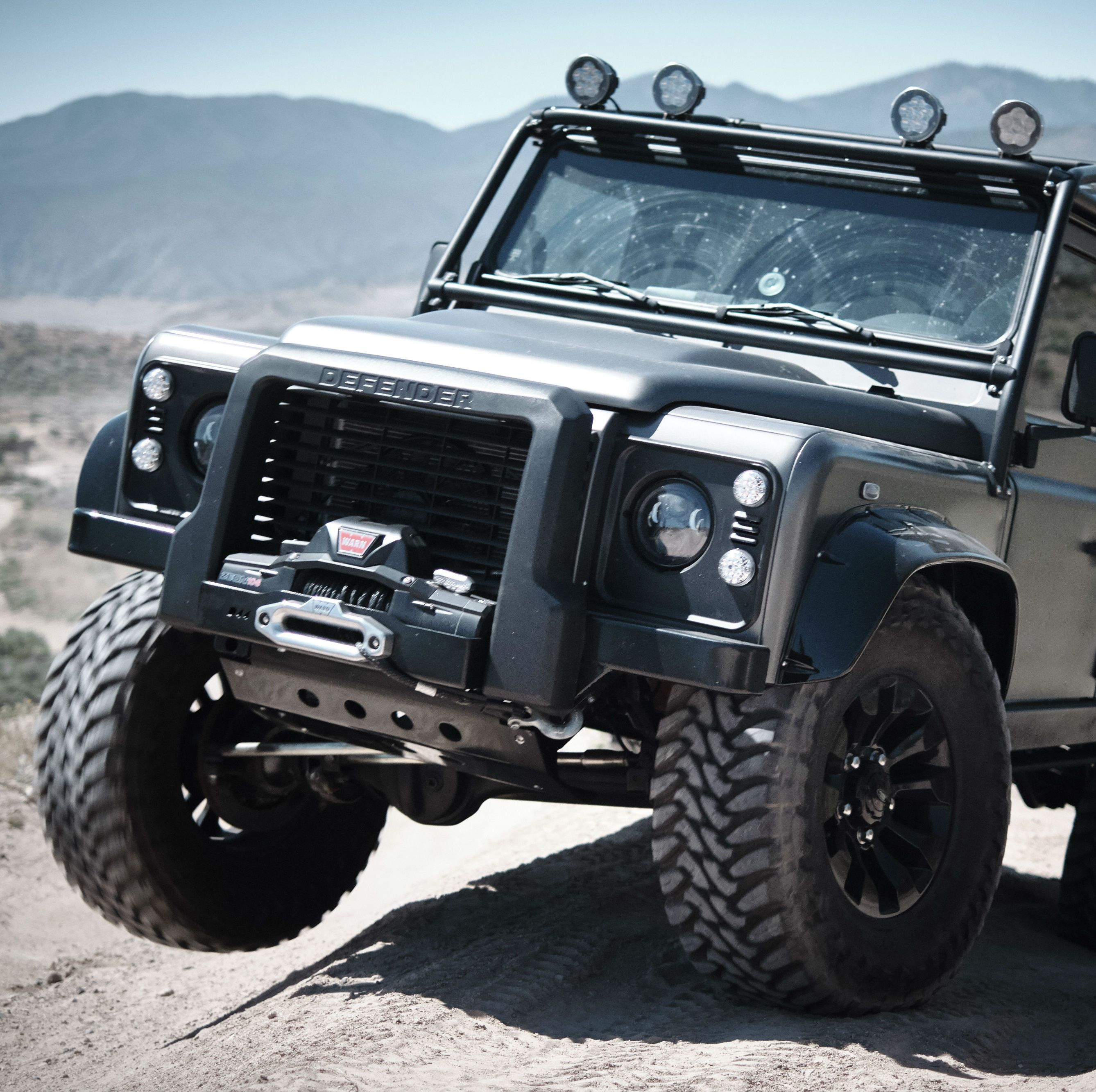 9 Cool Things We Learned Driving the Spectre Land Rover Defender