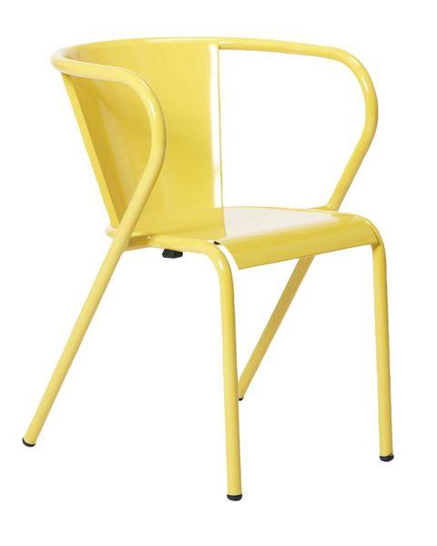 yellow adico chair, the conran shop