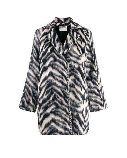 Clothing, Outerwear, Sleeve, Fur, Blouse, Top, Jacket, Blazer, Coat,
