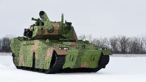 The U S  Army Will Pit Two Light Tank Designs Against One