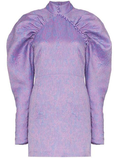 Clothing, Purple, Sleeve, Outerwear, Violet, Lavender, Lilac, Jacket, Collar, Dress shirt,