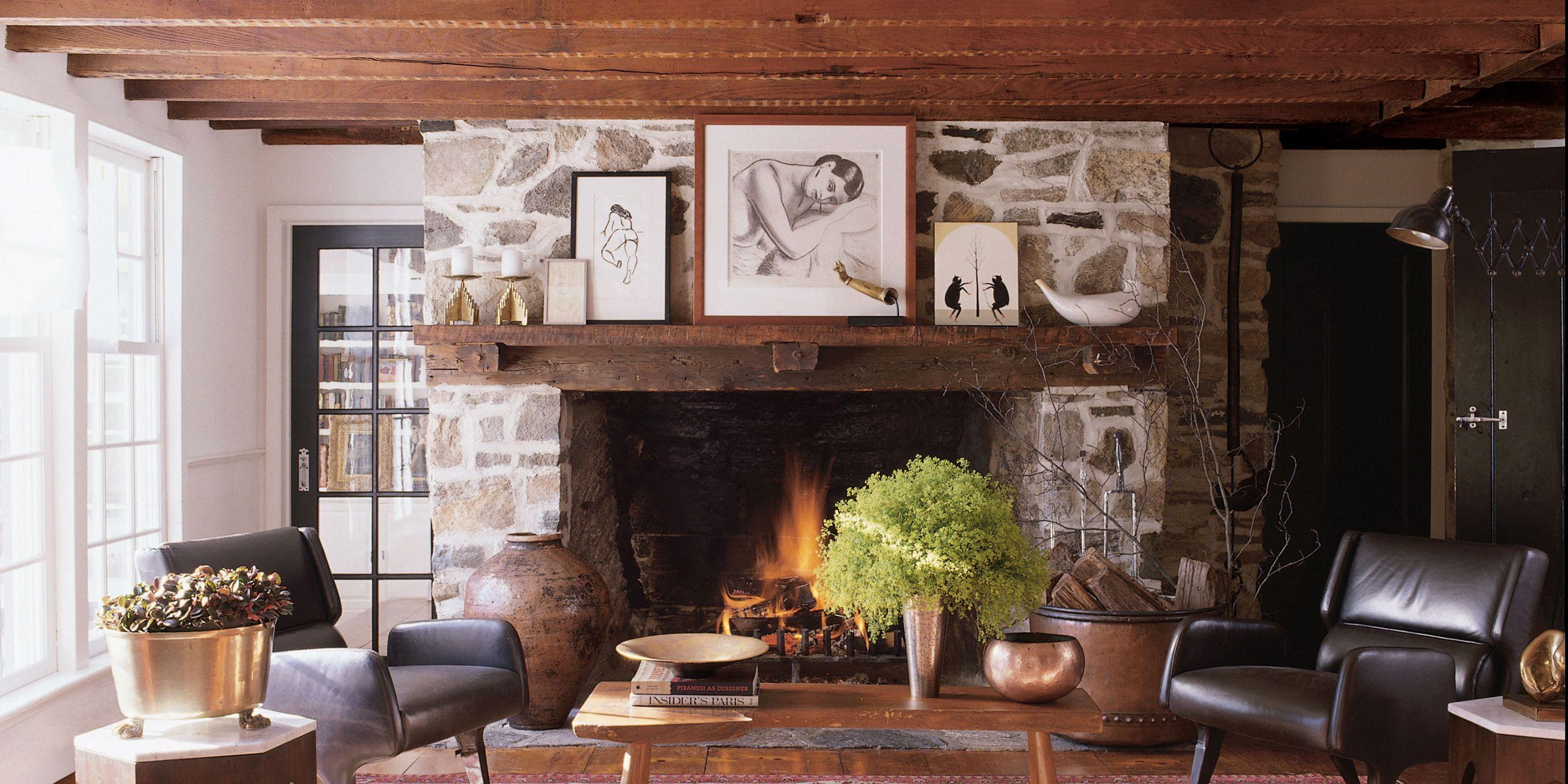 Fireplace Ideas & 24 Unique Fireplace Mantel Ideas \u2013 Modern Fireplace Designs