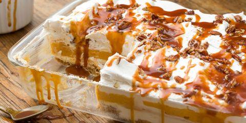 Dish, Food, Cuisine, Ingredient, Dessert, Bread pudding, Baked goods, Banoffee pie, Produce, Recipe,
