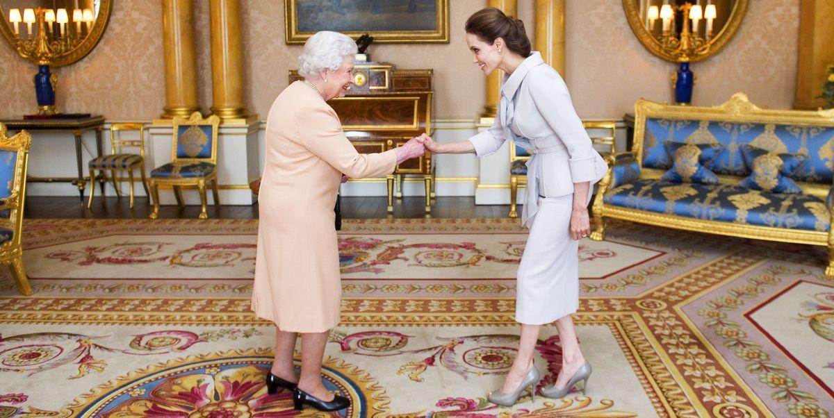 What 50 Celebrities Wore to Meet the Queen