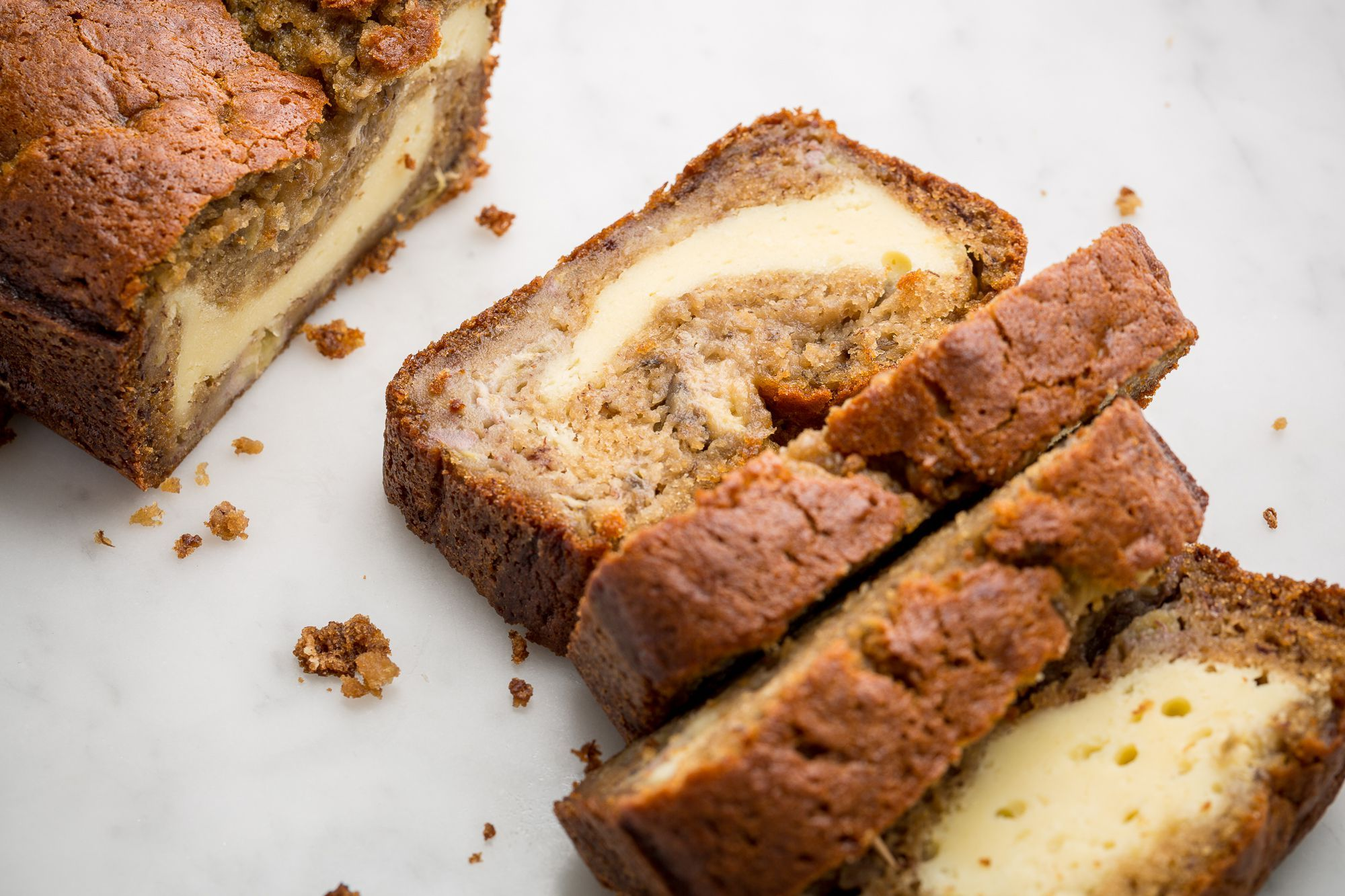 Cheesecake Banana Bread