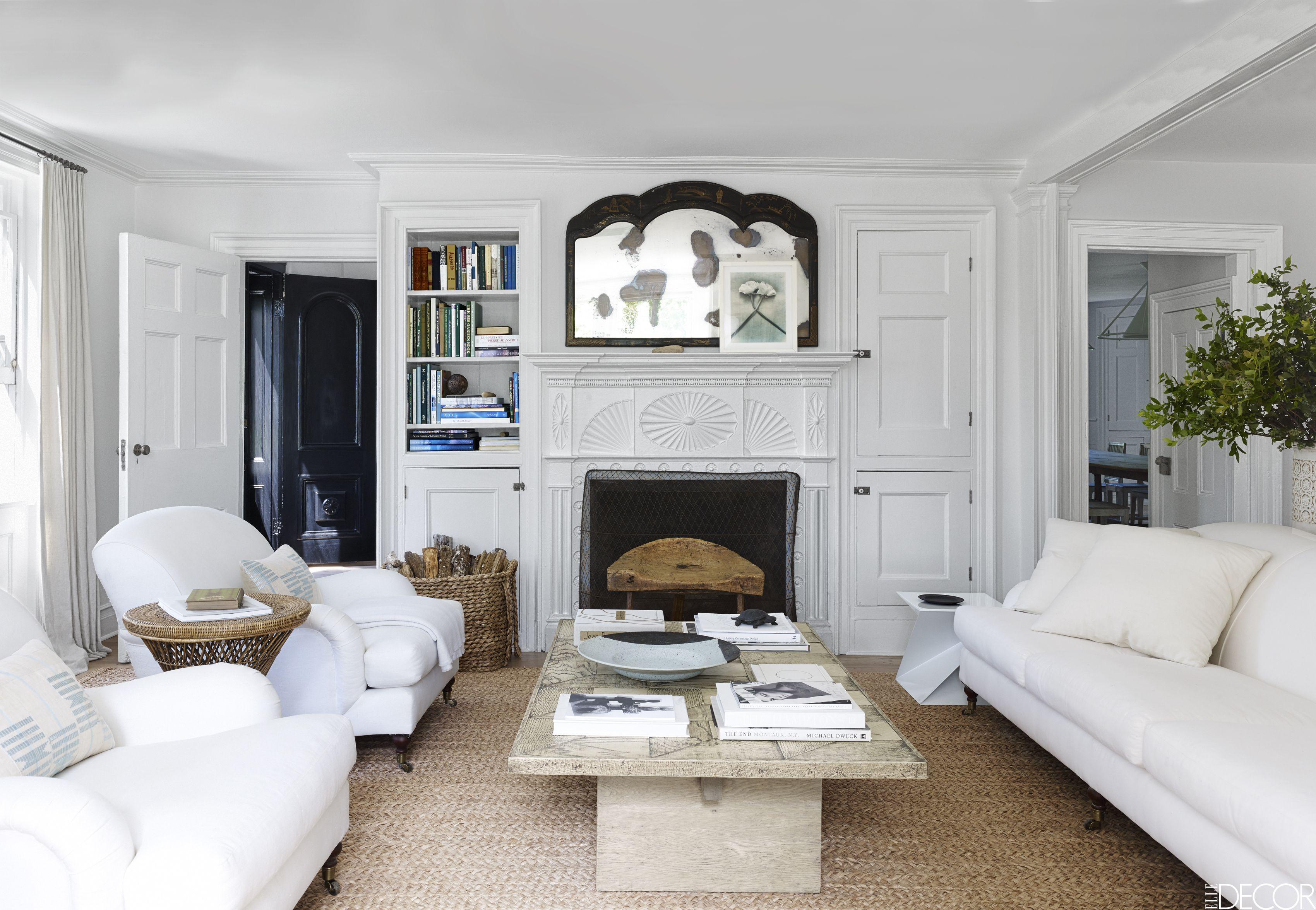24 Best White Sofa Ideas Living Room Decorating Ideas For White Sofas Rh  Elledecor Com Gray Living Room With White Couch Living Room Ideas With  White ...