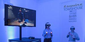 Así funciona (en primera persona) los juegos de realidad virtual de PlayStation.