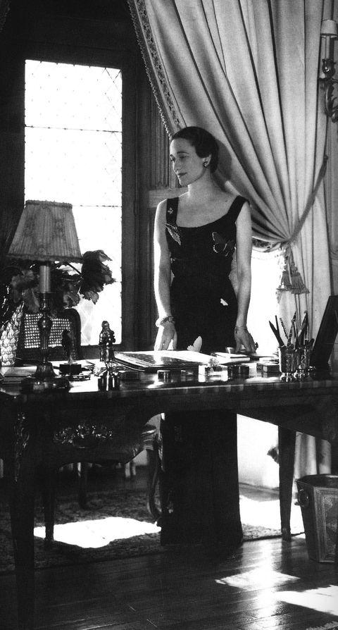 溫莎公爵夫人的黑白照