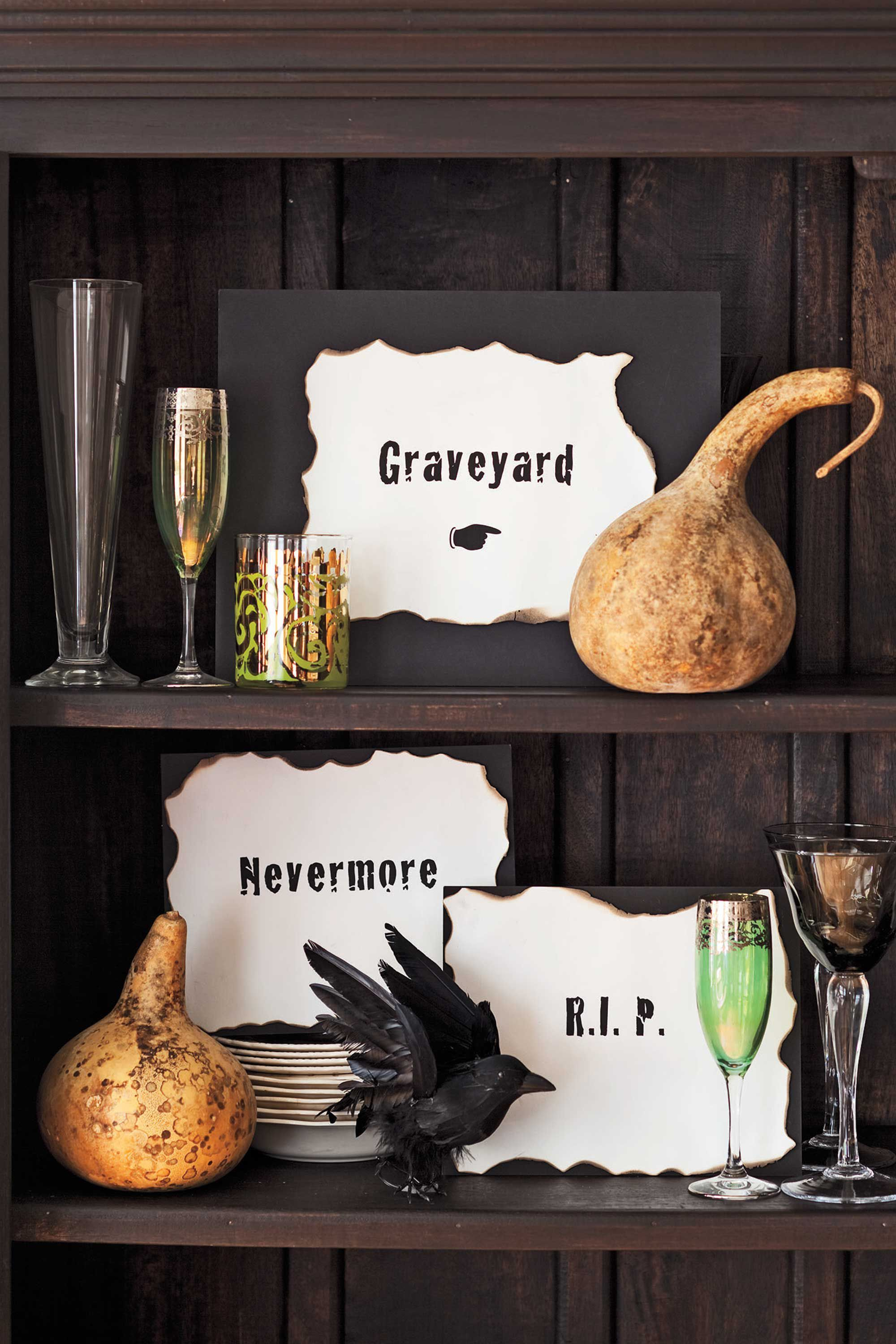 halloween decorations & 50 Easy DIY Halloween Decoration Ideas - Homemade Halloween Decor ...