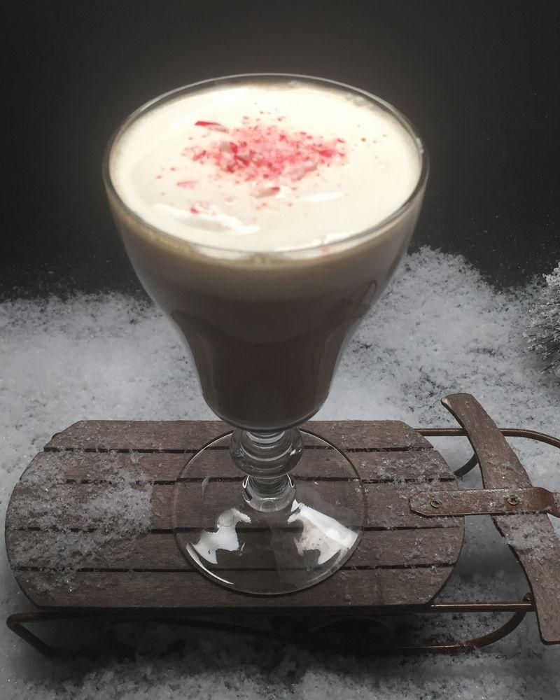 Pair Of 2 Large Irish Coffee Gles Mugs Tall Latte Gl Café
