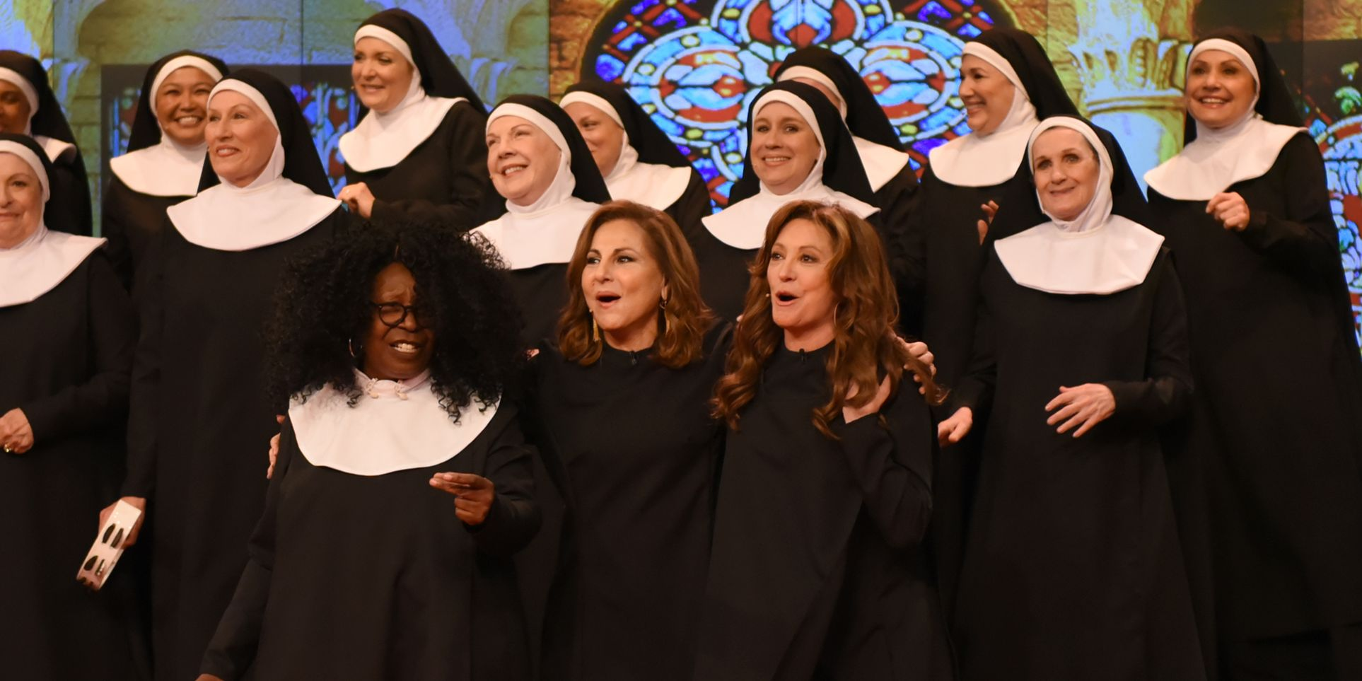 Whoopi Goldberg Reunited With Sister Act Co-Stars And Yes, The Nuns Are Singing Again!!