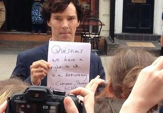 Benedict Cumberbatch lessons curiosities