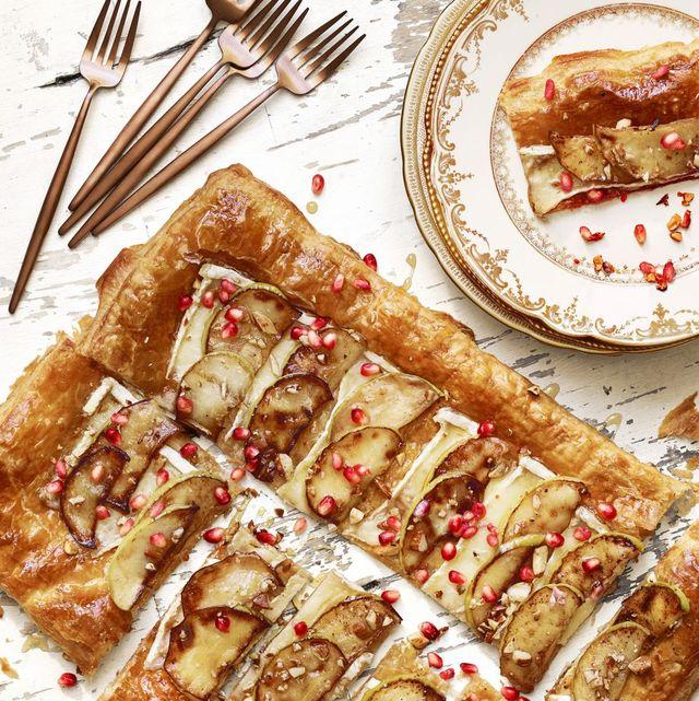 lauren conrad's brie  apple tart