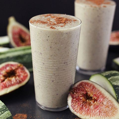 fig zucchini smoothie