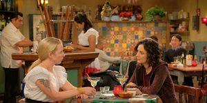 Becky and Darlene on Roseanne
