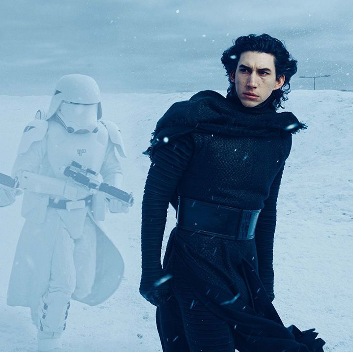 This Early Star Wars Design for Kylo Ren Will Give You Nightmares