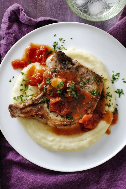 polenta-recipes - pork-chops