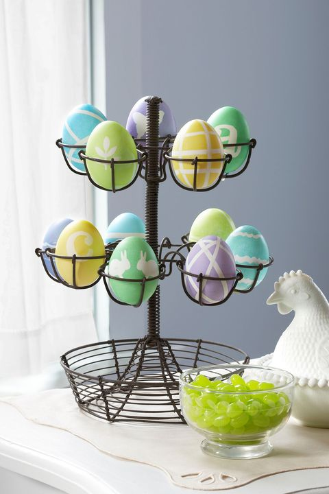 easter egg decorating - easy easter eggs