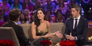 Becca and Arie hash it out on 'After the Final Rose.'