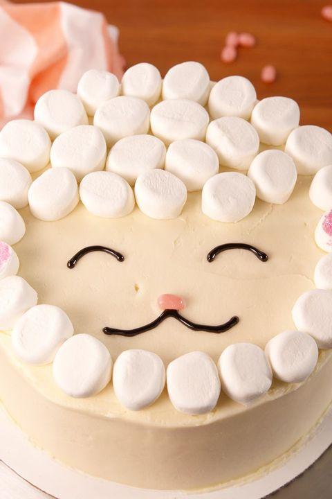 Easy Lamb Cake- easter cakes