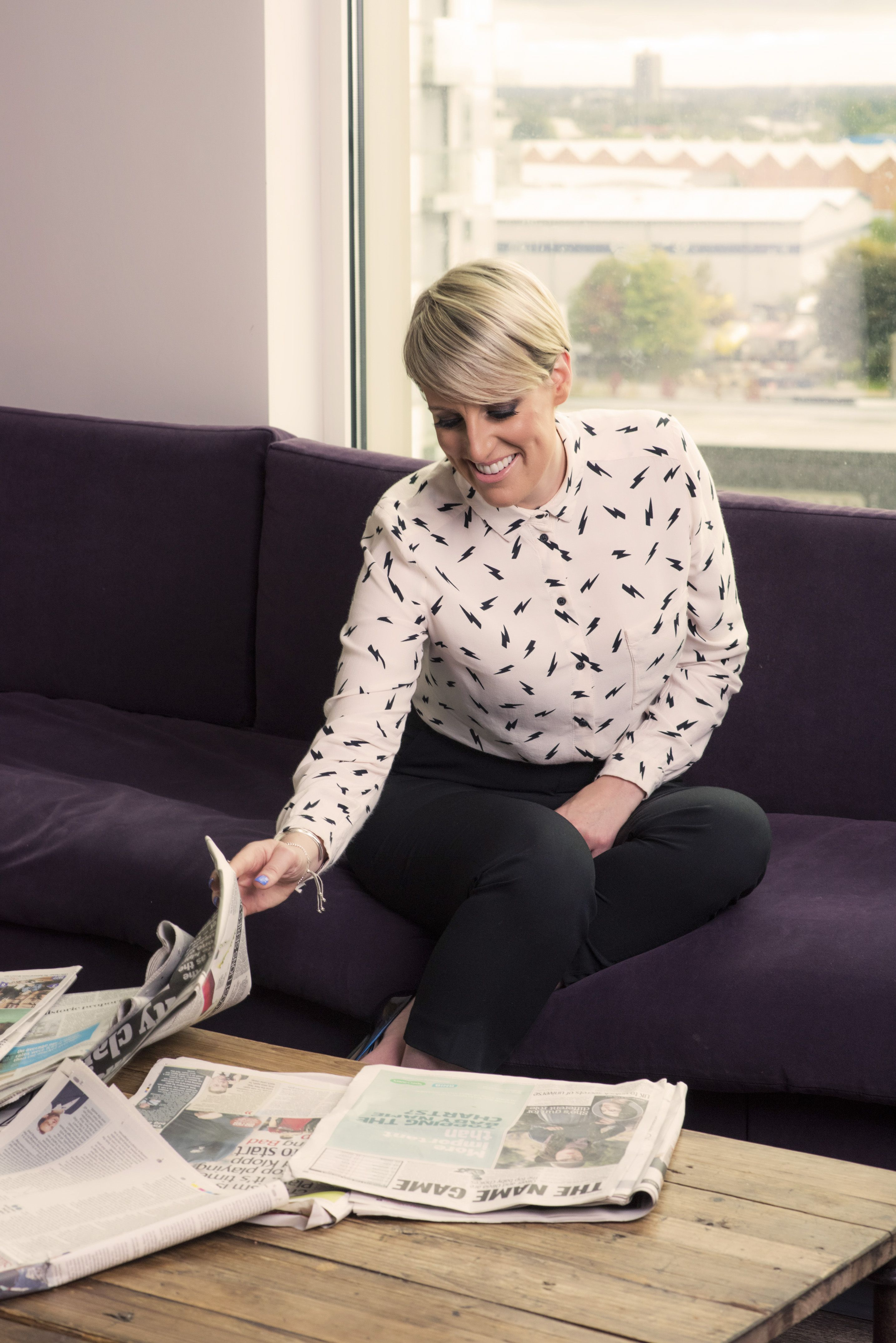 Steph McGovern shares very relatable baby incident