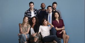 ALLISON MILLER, DAVID GIUNTOLI, CHISTINA MOSES, ROMANY MALCO, STEPHANIE SZOSTAK, RON LIVINGSTON, JAMES RODAY, GRACE PARK