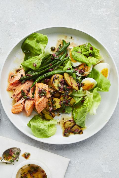 Salmon-recipes - salmon-nicoise-salad