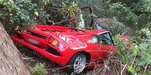 Lamborghini Diablo accidente Australia