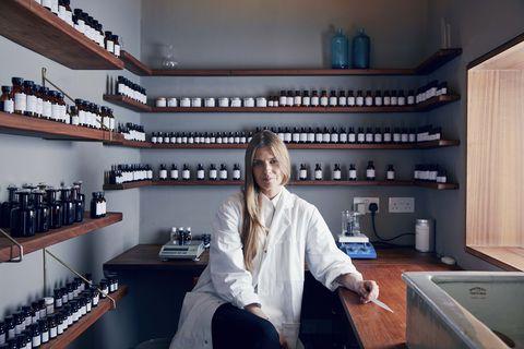 british perfumer lyn harris in her marylebone atelier