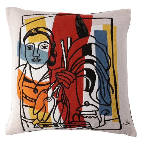 Pillow, Throw pillow, Cushion, Textile, Modern art, Furniture, Font, Design, Linens, Illustration,
