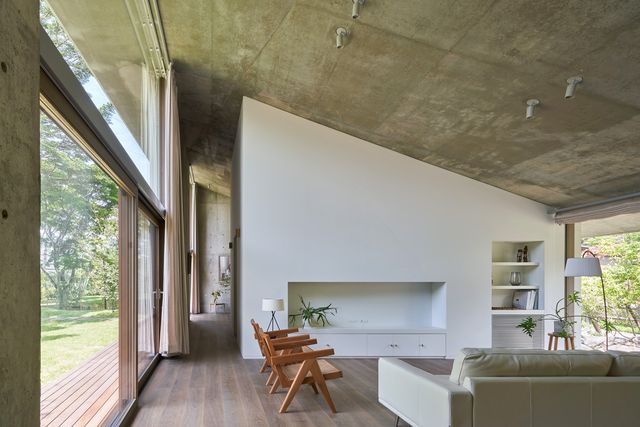 symbiotic house for life after retirement in karuizawa di read  architectsi