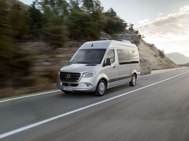 Mercedes Benz Van >> Mercedes Benz Sprinter